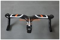 2014 New  carbon fiber road bike handlebar Most bent bar 440 420 400mm free shipping