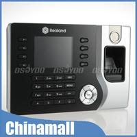 New High Tech Biometric Fingerprint & ID Card Employee Attendance Time Clock With TCP/IP Free Express 10pcs/lot