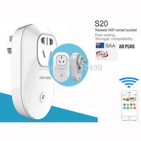 New Smart Socket Orvibo S20 SAA AU Australian Standard Switch Wall Plug Wireless Wifi Control Smart Home wall Socket Free Ship