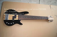 free shipping new 8-string electric bass guitar in black and sunburst made in China +foam box F-1850-2