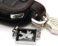 Peugeot 3008/2008 special folding key bag Peugeot 408/301/508 car with leather key set
