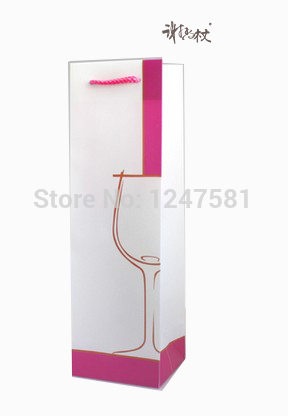 Hot Popular Sale Full color wine paper bag supplier in China(China (Mainland))
