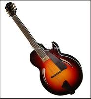 yunzhi half handmade sharp cutaway jazz guitar