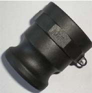 PP Camlock coupling fittings Type A
