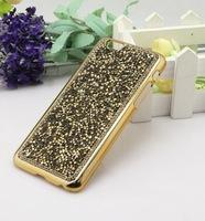 Luxury Rhinestone Bling Shinning Diamond Chrome fashion Hard Case Cover for iPhone 6  Free Shipping