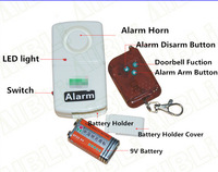Wireless Remote Anti-theft Security Alarm For  Motorcycle Motorbike Scooter Home alarm  Vibration alarm J-0115