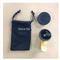 PEOBAO PB-002 Wide-Angle Len 0.4X  Micro spur Fish Eye  Zoom For Cellphone Mobile Phone