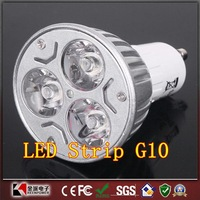 The spotlight 9W GU10 LED Bulbs Light 110V 220V Dimmable Led Spotlights Warm/Natural/Cool White GU 10 LED downlight