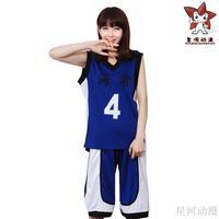 cosplay anime costume  Basketball  Kaijo clothes school male uniform uniforms top Kasamatsu Yukio shorts