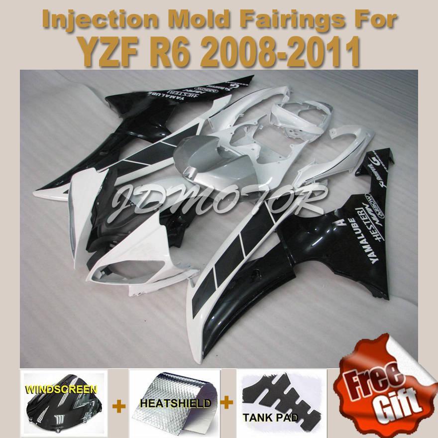Yamaha Yzf r6 2009 Yzf r6 2008 2009 White