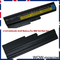 6Cell OEM 5200mAh 10.8V Li-ion Laptop Barrtery For IBM/ThinkPad T60 R60 Z60 New