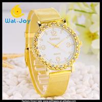 50/lot China supplier high quality pretty net belt vogue charming ladies watch(WJ-2745)