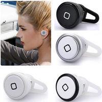 Wholesale Best Smallest Wireless Bluetooth Mini Headset Headphones Earphone For  Universal Phone Free shipping