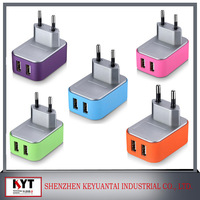 Factory price directly 5V2A tablet charger with EU ,UK,AU,US ,KC plugs  for tablet
