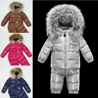 Design Children Kid's Unisex Girl Boy Duck Down Padded Jacket And Pants Set Coat Trousers Parkas Casual Outerwear For Winter