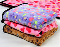 Hot Sale Lovely Design Pet Dog Cat Paw fashion colorful Blanket Mat pet products doggy puppy bed Free Shipping