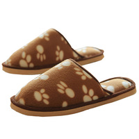 Free shipping  Cotton flannel slippers home floor mop mop couple home indoor shoes