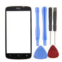 New Screen Glass Lens Replacement for HTC One S Ones T-Mobile balck + Free Tools