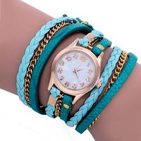 100pcs/lot dhl shipping Dress Wristwatch Women / Lady Watches Retro Synthetic Leather Strap Bracelet Watch XR388