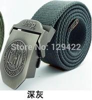 Free Shipping  Designer belt brand new fashion casual women men canvas belt fashion lengthen belts for men.Military canvas belt