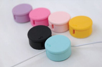 Wholesale Clean Winder Earphone Headphone Mobile MP3 Cable Cord Winder Screen Clean free shipping!