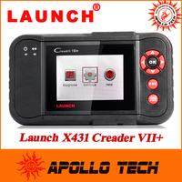 2014 New Original Auto Code Reader 7+ Launch X431 Creader VII+ Equal To CRP123 Creader VII Plus Update Via Offical Website