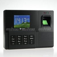 "High Quality Realand A-C031 2.8"" Biometric Fingerprint ID Card TCP/IP Attendance Time Clock Free Shipping & Drop Shipping"