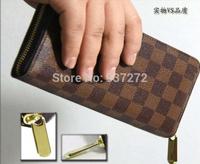 famous brand women louis wallets fashion single zipper girl wallet billfold classic purse with original box AAN60015,N63077