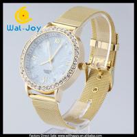 50/lot alibaba China fashion pretty hot sale net belt charming women watch(WJ-2747)