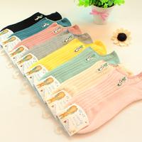 5 pairs of socks children socks cotton turnip rabbit summer lady boat socks cotton socks wholesale contact