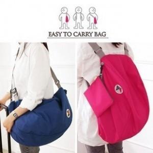 Multifunctional Storage transform folding shoulder bag backpack(China (Mainland))