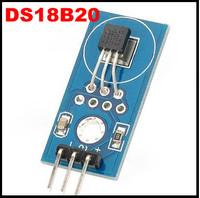 DS18B20 1mm Hole Dia Blue Temperature Sensor Module Freeshipping