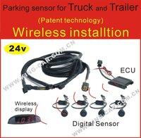 wireless LED parking sensor 24 voltage for truck
