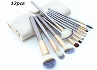 12pcs Pro Professional Makeup Brush Cosmetic Brush Set Brushes Tools Set Kits