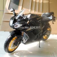 5pcs/pack Wholesale 1/12 Scale Motorbike Model Toys Kawasaki Ninja ZX-10R Black Diecast Metal Motorcycle Model Toy For Gift/Kids