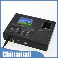 "Hot 2.8"" USB Biometric Fingerprint Password ID Card TCP/IP Attendance Time Recording Clock Free Shipping & Drop Shipping"