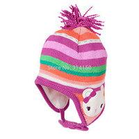 2014 New Baby Caps Children's cute cartoon Warm Hats baby girls/boys Crochet hats Ear Protect Winter Hat 1pcs free shipping