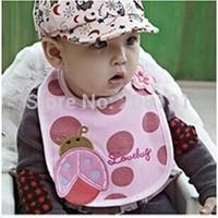 Baby bib baby bib newborn waterproof cartoon rice pocket bib infant bib