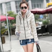 2014 wincey women's short design slim thin autumn and winter outerwear