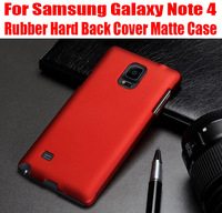 1PC 2014 New Rubber Hard Back Cover Matte Case for Samsung Galaxy Note 4 NO: N9107