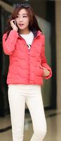 2014 new design fashion ladies short coat winter hoodies down jackets hot women's winter coat jacket women of clothes
