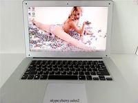 Free dhl shipping 14.1 laptop 1.86 windows 7 or 8 Intel Atom D2500 dual core ultra thin laptop notebook computer