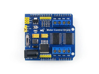 Motor Control Shield Integrates Dual H-bridge Driver L293D Able to Drive 4 DC Motors and 2 Stepping Motors At One Time