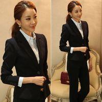 Casual Oversized Women Shrug Pure Color One Button Short Lapel OL Blazer Coat Outwear #66498