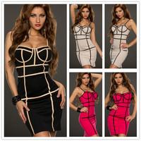 R7961 Free shipping ohyeah brand low-cut patterns celebrity dresses 3 color dress to party mini off shoulder women dresses
