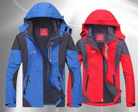 Hot Spring Autumn Women Men Windbreaker Climbing Hiking Camping Outdoor Jacket  Zipper Sport Coats