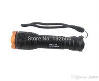 10pcs/lot camp led flashlights UltraFire Touch Cree XM-L T6 2000 Lumen XML LED Light flashlights for camping