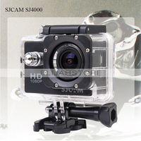 New Fashion SJCAM SJ4000 Action Camera Diving 30M Waterproof Sport Camera AV TV 1080P Full HD Car DVRs Gopro Camera Style