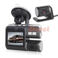 i1000 Car DVR Full HD 1080P Dash Cam Video Recorder Dual Camera With Rear view Camera Car Camera Camcorder Dual Lens Car DVRs