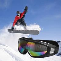 Women's Men's Style Coated  Frame Goggles -UV400 Protective Ski Skiing Snowboarding Skate X-200 New